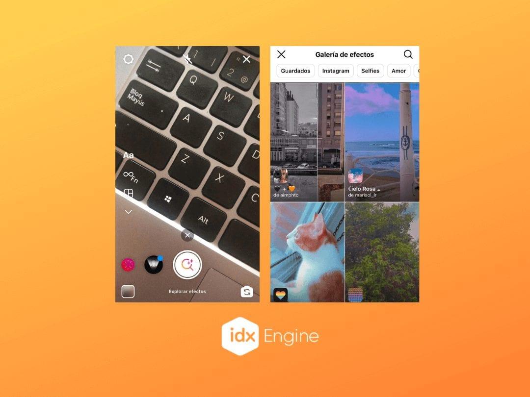 Instagram Stories filtros