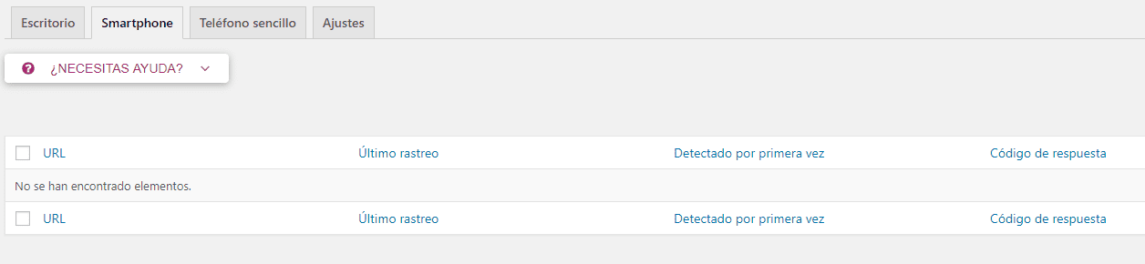 Search Console Errores 404