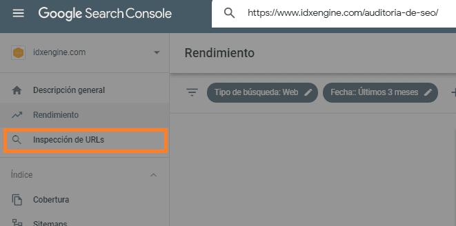 Comprobar si la URL está indexada en Google