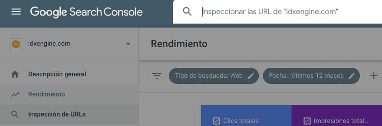 Lanza tu nuevo contenido SEO a través del inspeccionador de URLs de Search Console